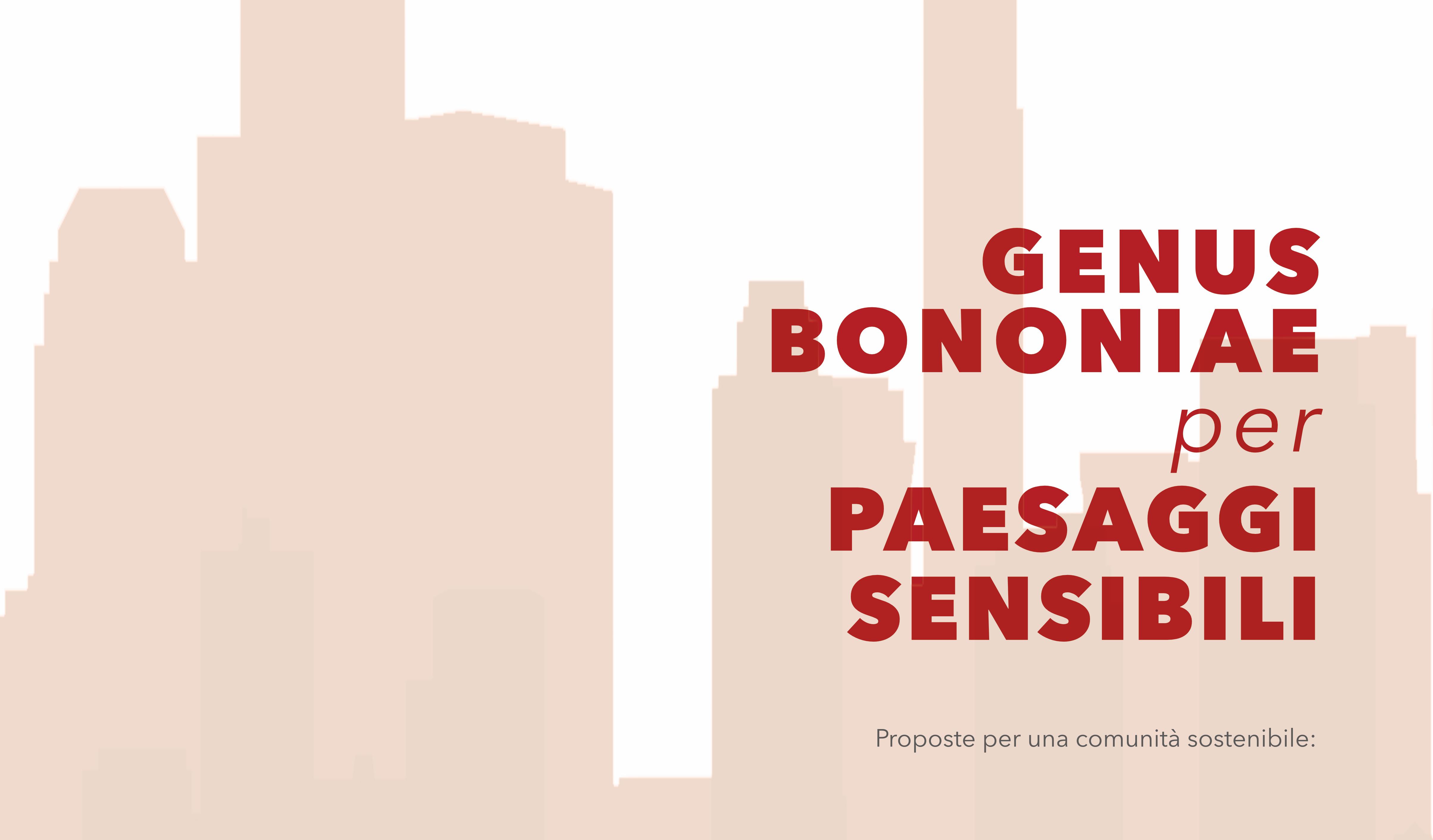 Genus Bononiae per Paesaggi sensibili